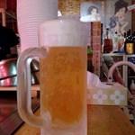 おっこん  - 生ビール