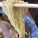 65578768 - 【2017.4.6】三河屋製麺の中加水細麺。
