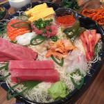 鮮魚仕出し 幾の家 - 手巻き寿司用に材料注文可能。