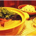 珈屋Lamp - ヘルシーな土鍋和風マカロニ(冬季)