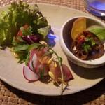 ビーマーリン - ランチコースの前菜3種