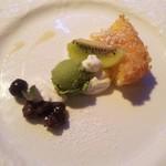 ビーマーリン - ランチコースのデザート