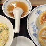 開楽 - Bセットのスープ