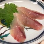 すし処 大敷 - 藁で炙った鯖