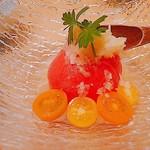 魚河岸 次郎松 - ガリトマト