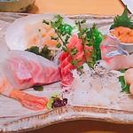魚河岸 次郎松 - 特選お造り盛合せ