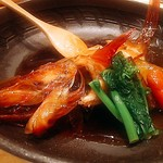 魚河岸 次郎松 - 金目鯛煮付