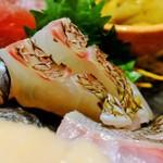 すし屋魚真 - 天然真鯛