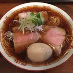 しば田 - 「中華そば」780円+味玉