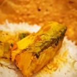 ダルバート食堂 - カレー2種類盛り(サワラのカレー)