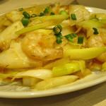 中華食堂 一番館 - エビとイカのバーベキューソース炒め