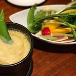 オーシャン ファターレ - 季節野菜のバーニャカウダ 1200円