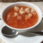 ラパン・アジル - 野菜スープ