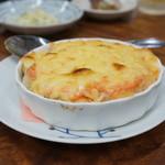 永楽食堂 - 明太チーズの長芋
