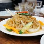 永楽食堂 - 春雨サラダ