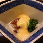 味 ふくしま - 蛍烏賊と青菜の黄身酢掛け