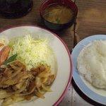 キッチン ブルボン - 料理写真:焼肉ランチ 550円