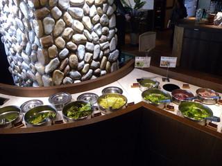 SEIKO-EN 原宿 - サラダバー 洋風のサラダのみです キムチとかナムルはありません