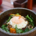 レイガーデン - 料理写真:石焼ロコモコ
