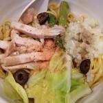 鶏の穴 - バーニャカウダ風あえ麺「ニルバーニャ」(2017年04月限定)