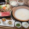 佐賀牛賓館 - 料理写真:湯どうふしゃぶしゃぶランチ