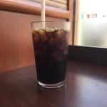 モスバーガー - アイスコーヒー、250円です。