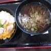 ごまそばと丼 高田屋 - 料理写真:ごまそばと親子丼セット