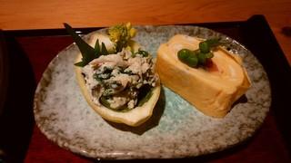 百 - 「限定日替わり定食(松)」の惣菜