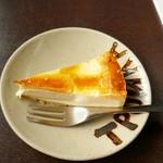 トロイカ - セットのチーズケーキ