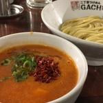 二丁目つけめん ガチ - Red hot chili ノーマル