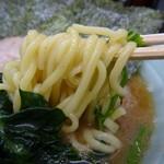 武蔵家 - 平成29年4月16日(日)再訪問・酒井製麺を柔らか目注文