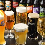 フットニック - 11種類の樽生ビール!!