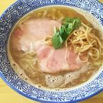 らぁ麺屋 はりねずみ - 1704_らぁ麺屋 はりねずみ_煮干しらぁ麺(手もみ麺)@750円
