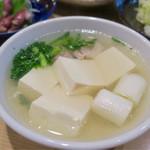 大衆割烹 三州屋 - 鳥豆腐 480円