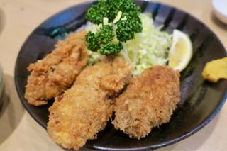 大衆割烹 三州屋 本店 - カキフライ3個 580円(美味しすぎておかわりした)