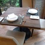 芦屋フレンチ北じま - ☆開放感のあるテーブル席ですね(^◇^)☆