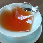 芦屋フレンチ北じま - ☆紅茶はハートなカップがキュートです!(^^)!☆