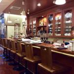 珈琲館 潤 - 店内風景。