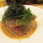 博多天ぷら ながおか - ゴマサバ。