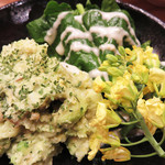 博多天ぷら ながおか - アボカドポテトサラダ。