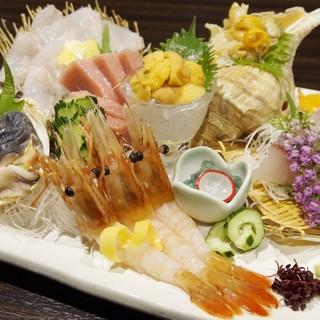 自慢の北海道料理