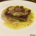 アヒル食堂 - ポルチーニ茸の温製パテのフォアグラソース