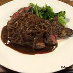 アヒル食堂 - 黒毛和牛種のグリエ