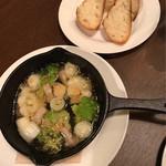 ブローテ - 野菜のアヒージョ550円