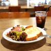 オハコルテベーカリー - 料理写真:モーニングメニュー トーストサラダセット (550円) '16 6月中旬