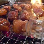 炭火ホルモン焼肉 ぶぶのすけ - 七輪