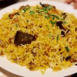 アルカラム - Chicken Kaleji Biryani チキンレバー・ビリヤニ