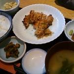 65627186 - 鶏の味噌焼き(日替わり)