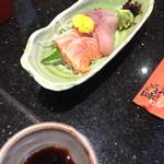 にぎり長次郎 - 料理写真:刺身2点盛り