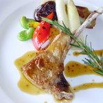 ラ・テラス - 肉料理一例